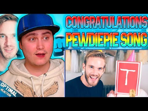 Congratulations song | Pewdiepie, Roomie, Boyinaband | Reaction