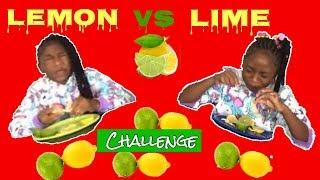 LEMON AND LIME CHALLENGE