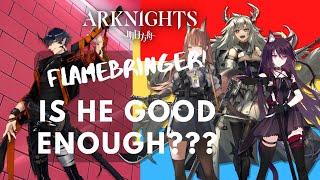 Flamebringer  - (Arknights) - Flamebringer VS Guard Operator lainnya -  Arknights Indonesia #22