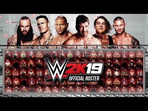 WWE 2K19 Official Roster All Superstars Confirmed So Far *UPDATED* (WWE  2K19 News) - ElementGames