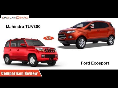 Mahindra TUV3oo vs 2016 Ford EcoSport  | Comparison Review | CarDekho.com