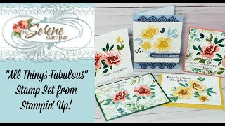 """""""All Things Fabulous"""" One Layer Card 