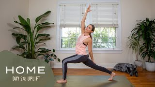 Home-Day 24-Uplift | 30 Days of Yoga With Adriene