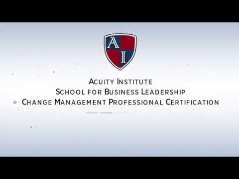 Change Management Professional Certification - YouTube