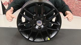 "Mustang Ford Performance 18""X8"" Matte Black Spyder Wheel 2005-2014"