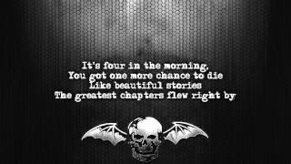 Avenged Sevenfold - 4 a.m. [Lyrics on screen] [Full HD]