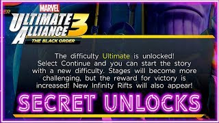 SECRET Unlocks! Ultimate Difficulty, 5th Power Up & Omega Infinity Trials! Ultimate Alliance 3