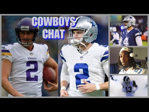 COWBOYS CHAT: Brett Maher OUT; Kai Forbath IN; Dak's Dip; Missed Tackles; Low Blitz Rate; Rams Next!