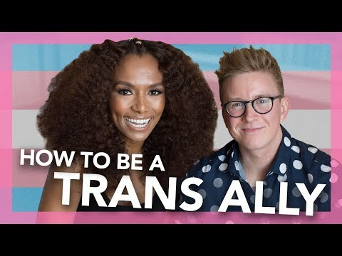 How To Be A Better Trans Ally (ft. Janet Mock) | Tyler Oakley