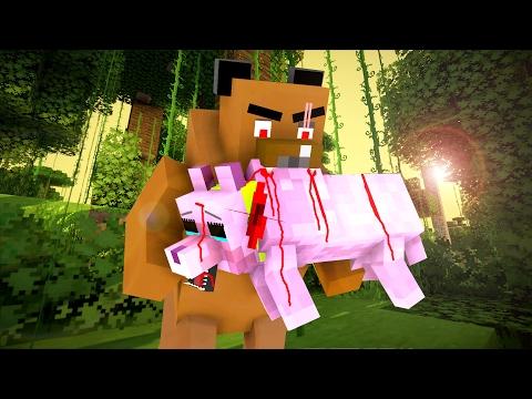 Wolf Life 4 Craftronix Minecraft Animation