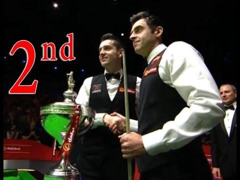World Snooker Championship 2014 -Final - RONNIE O'SULLIVAN vs MARK SELBY ( Second Session )