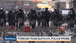 Foreign Experts Quit Panel Investigating Hong Kong Police