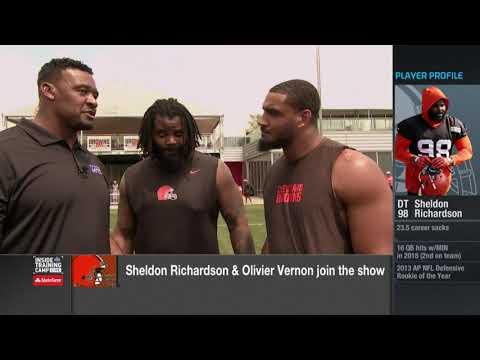 Sheldon Richardson, Olivier Vernon discuss leadership role on Cleveland Browns defense