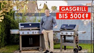 GASGRILL BIS 500€?  / GASGRILL VERGLEICH  /  WEBER SPIRIT 2 E 310 /  GENESIS 2 EP 435