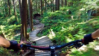 SAVED THE BEST FOR LAST   Mountain Biking Mt. Fromme on the North Shore