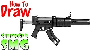 Download Lagu How To Draw The Silenced Smg Fortnite Mp3 5