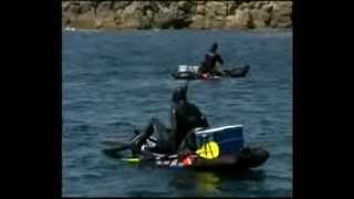 Pesca submarina en kayak de mar. Parte I