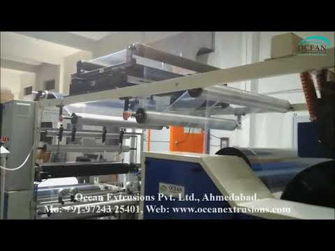 Water Pouch Making Machine Line