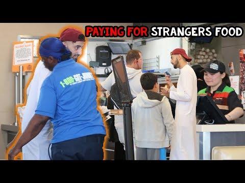 PAYING FOR STRANGER'S FOOD IN RAMADAN