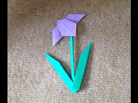 簡単 折り紙 折り紙 あやめ : matome.naver.jp