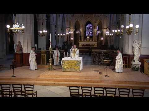 Messe du 18 mai 2020 à St-Germain-l'Auxerrois