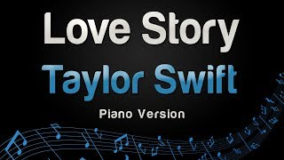 Taylor Swift   Love Story (Piano Version)