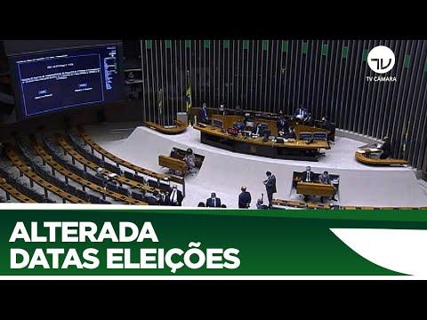 Plenário aprova alterações em datas das eleições 2020 - 01/07/20