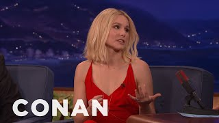 ​Kristen Bell Is Totally Cool With Dax Shepard's Wife Swap Plans  - CONAN on TBS