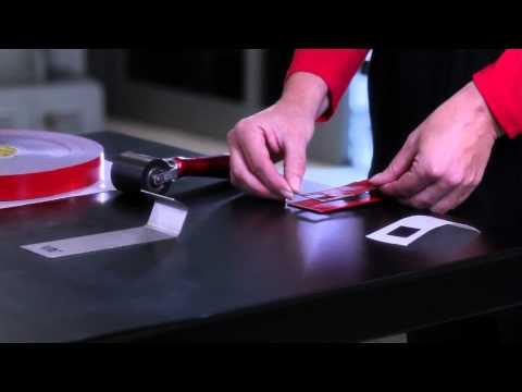 3M™ VHB™ Klebeband richtig anwenden - Eine starke Verbindung!