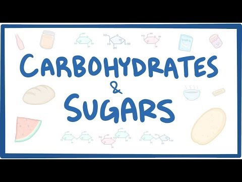 , title : 'Carbohydrates & sugars - biochemistry