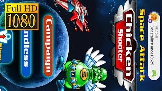 Chicken Shooter: Space Defense Game Review 1080P Official Platformer Arcade 2016