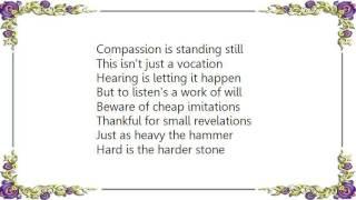 Chris Smither - Small Revelations Lyrics