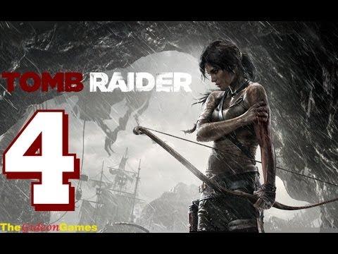 Прохождение Tomb Raider на Русском (2013) - Часть 4 (Логово)
