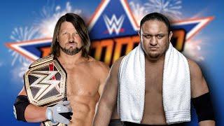 HUGE Update On WWE's SummerSlam 2018 Plans