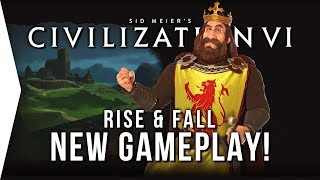 Civilization VI Rise & Fall ► New Civ 6 Gameplay Features! - [Gamer Encounters]