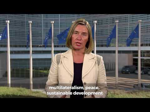 Video message for the Europe Day - Federica Mogherini