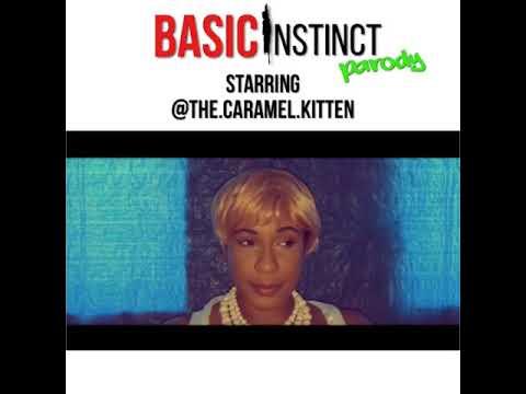 Basic Instinct Parody Starring Caramel Kitten!