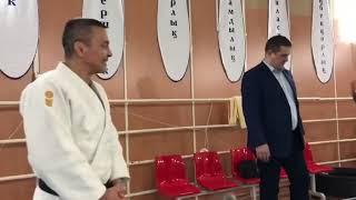 Ветераны дзюдо Астаны принимают гостей из России