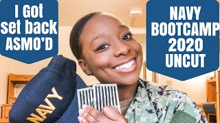 MY NAVY BOOT CAMP EXPERIENCE 2020: COVID•SETBACKS•DELAYS