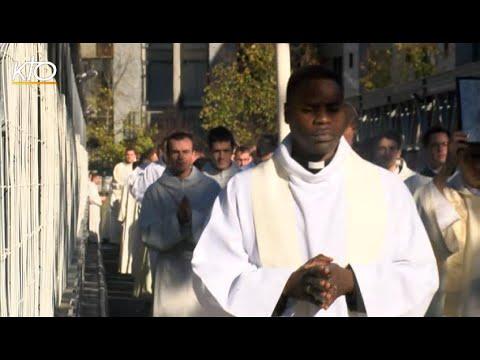 Le premier pèlerinage des séminaires de France