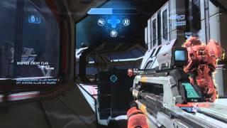 Halo 4 Dispatch Flag Gameplay