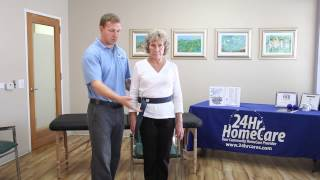 Physical Therapy Exercises for Seniors: How to Properly Use a Gait Belt - 24Hr HomeCare