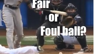 Do You Know If This Is A Foul Ball Or Fair Ball?