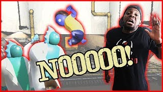 NOOO! THEY TRIED TO VIOLATE ME AND CALL ME SUSIE! - Gang Beasts Gameplay
