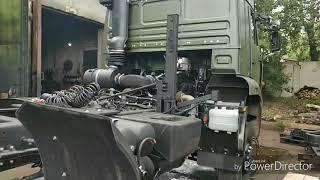 КАМАЗ 65225 не хочет уезжать в Магадан.