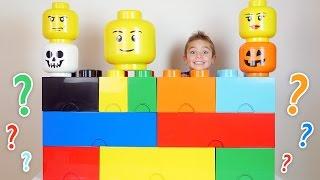 SURPRISES CACHÉES dans des LEGOS GÉANTS - 1/2