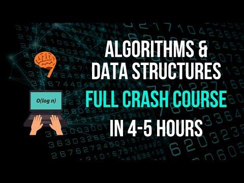 Algorithms & Data Structures Full Crash Course - YouTube