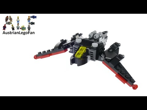 Vidéo LEGO The Batman Movie 30524 : Le mini Batwing (Polybag)