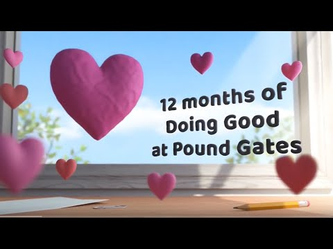 12 months of Doing Good at Pound Gates