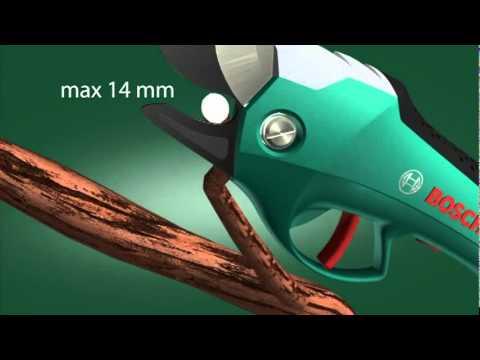 Tijeras eléctricas de poda Bosch Ciso